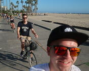 Bike Tour am Strand von Venice Beach