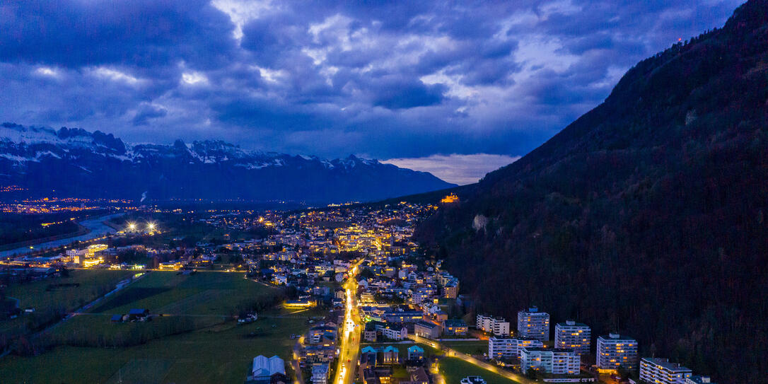 Vaduz by Night