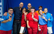 Bodenseegames Special Olympics Tennis Siegerehrung