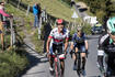 Diego Ulissi (in weiss) vom Team UAE Emirates an der Tour de Romandie 2017 (Archivbild)