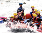 Riverrafting in der Reinaulta
