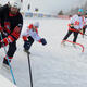 Erstes Liechtensteiner Pond Hockey Turnier in Malbun