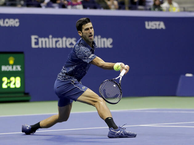 Novak Djokovic gewann am US Open in New York seinen 14. Grand-Slam-Titel