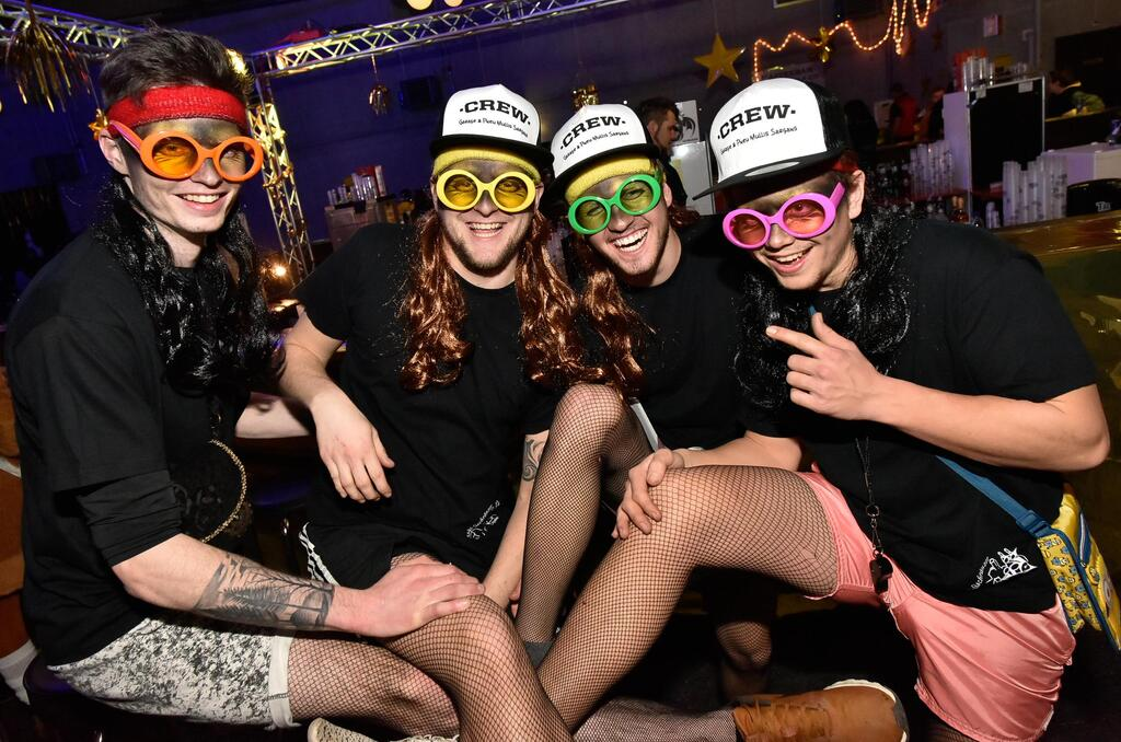Fasnachtsparty In Sargans
