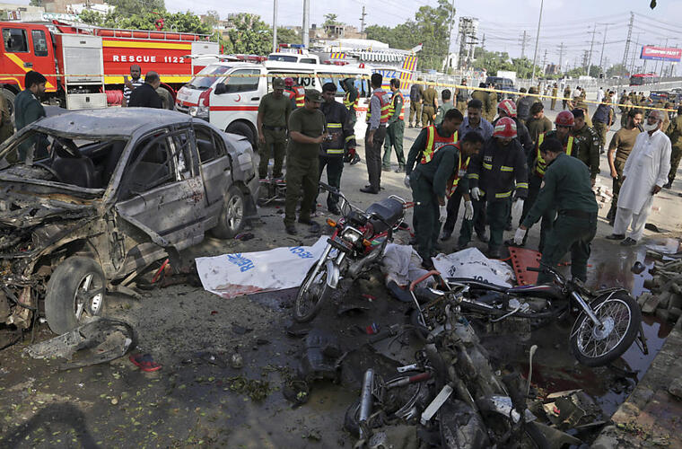 Tote bei Selbstmordanschlag in Lahore