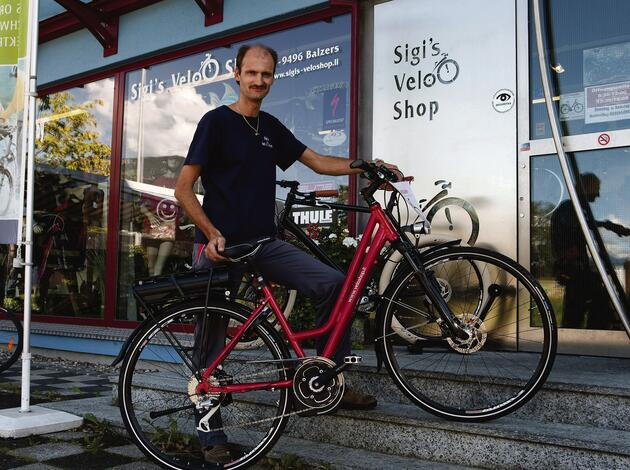 Sigis Velo Shop in Balzers