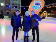 Dörferduell am 27.11.17, Vaduz on Ice